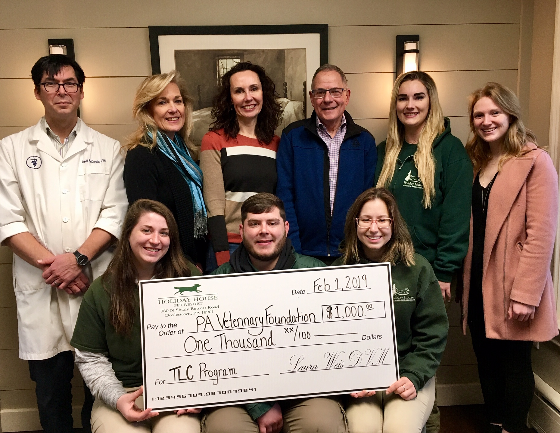 Holiday House Fundraiser Presentation to PVF